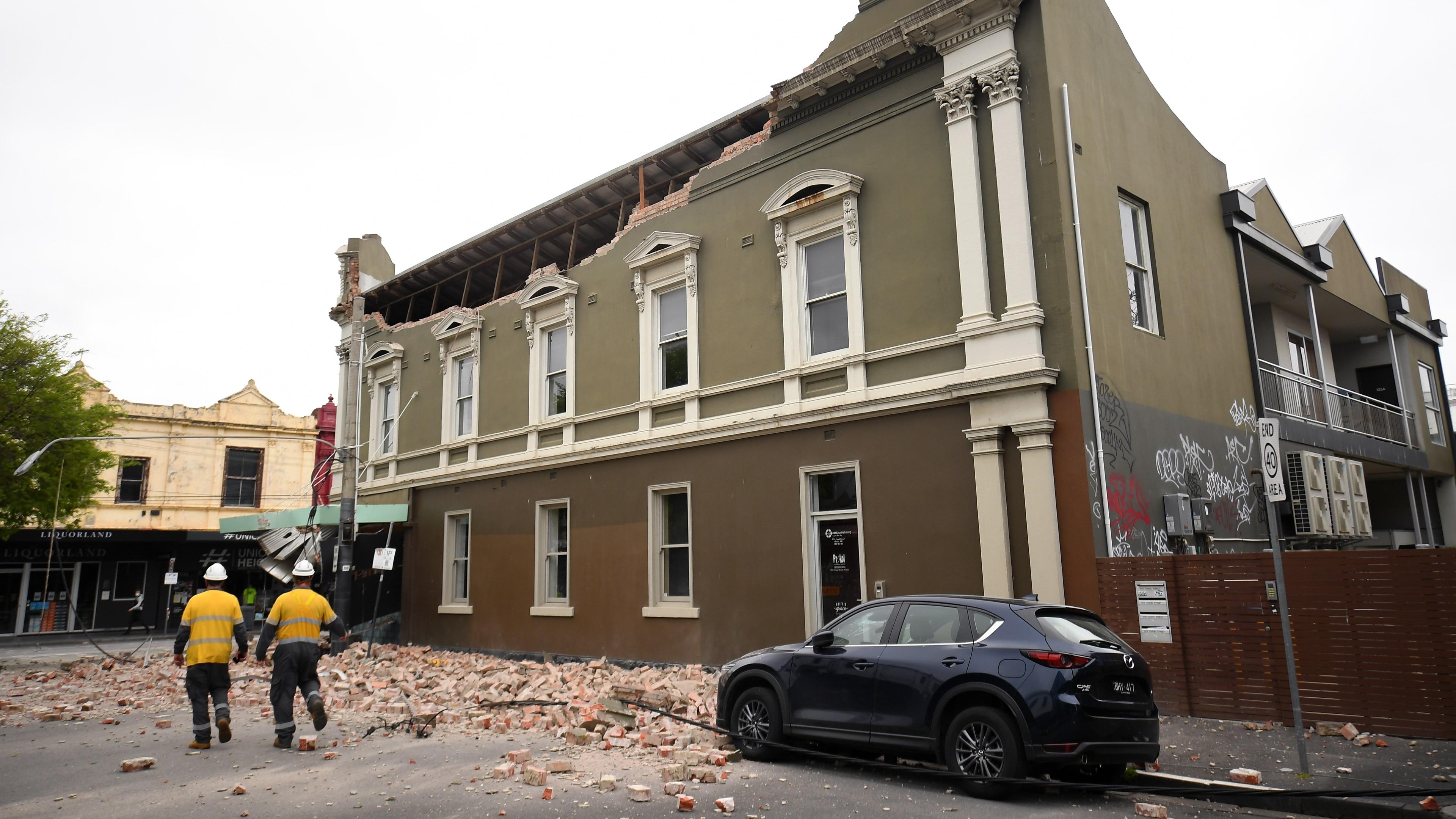 crackd building