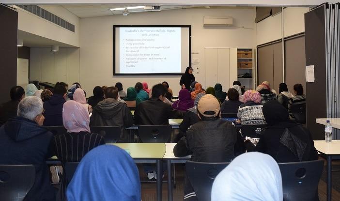 citizenship test preparation class