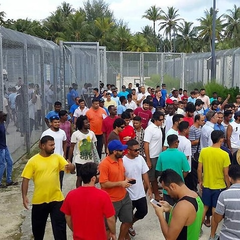asylum seekers refusing to leave the Manus Island Detention Centre