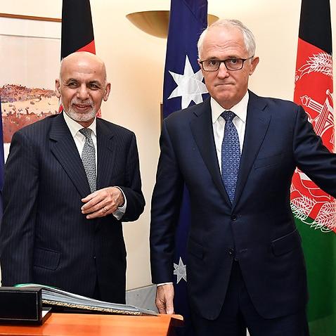 Afghanistan's President Dr Mohammad Ashraf Ghani