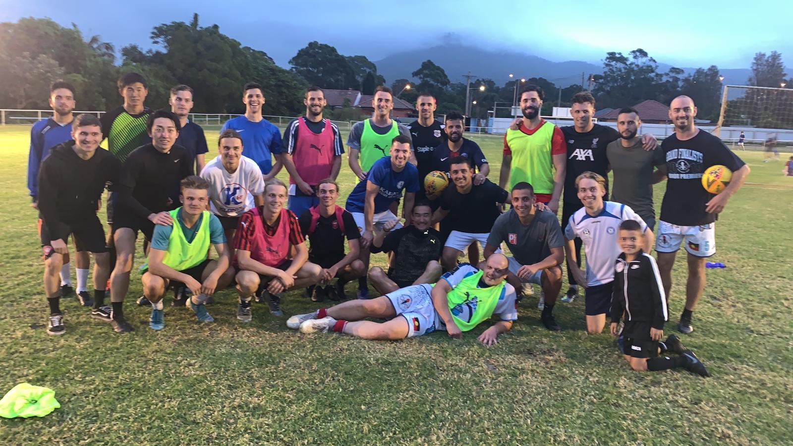 Wollongong Olympic FC Yu Hasegawa