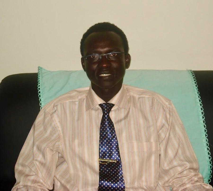 Nyok Gorは、南スーダンとオーストラリアの洪水救援グループのスポークスマンです。