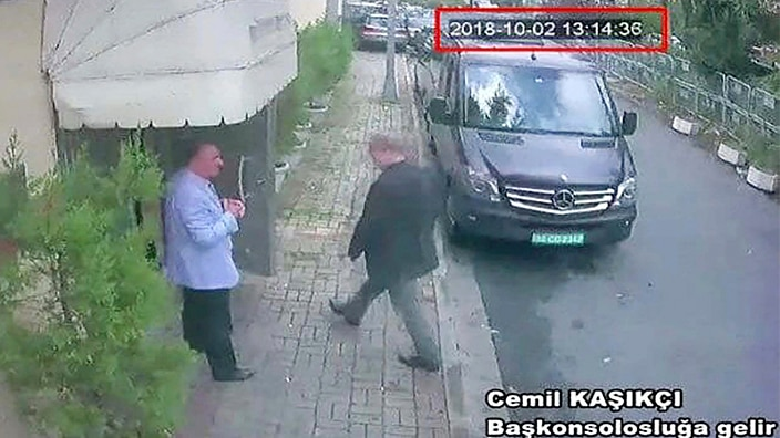 Journalist Jamal Khashoggi entered Istanbul's Saudi consulate and has not been heard from since.