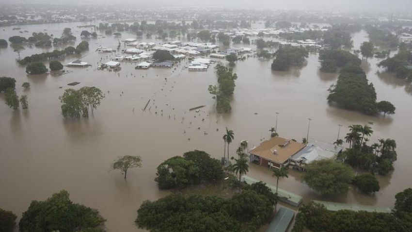 Queensland Flooding from the air