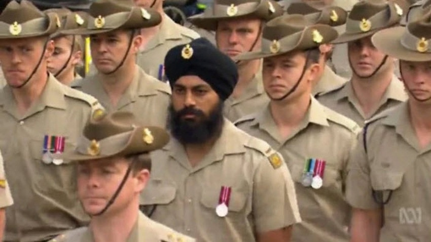 Here S Why Every Australian Soldier Wears The Subcontinental Invention That Is The Puggaree