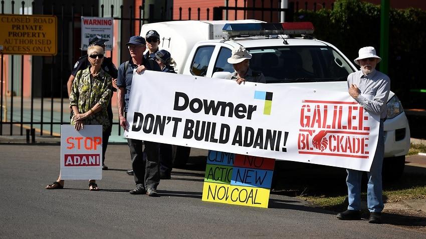 Anti-Adani protesters set to begin week-long demonstration