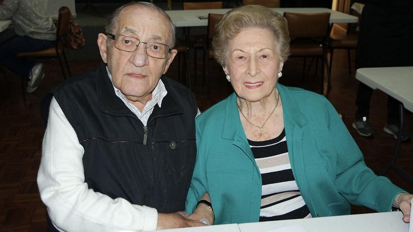 Moshe and Franciska