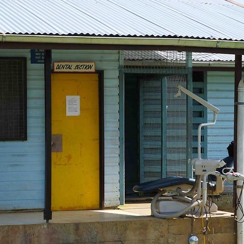 The dental section of Lorengau Hospital on Manus Island.