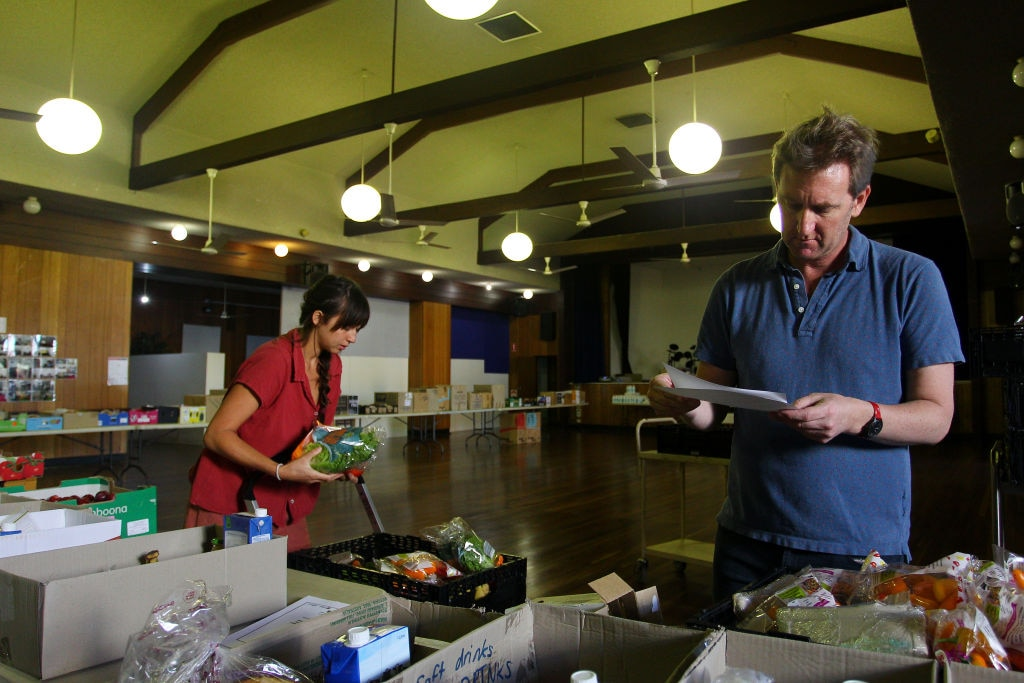 Charities Work To Provide Food For People In Need During Melbourne Lockdown