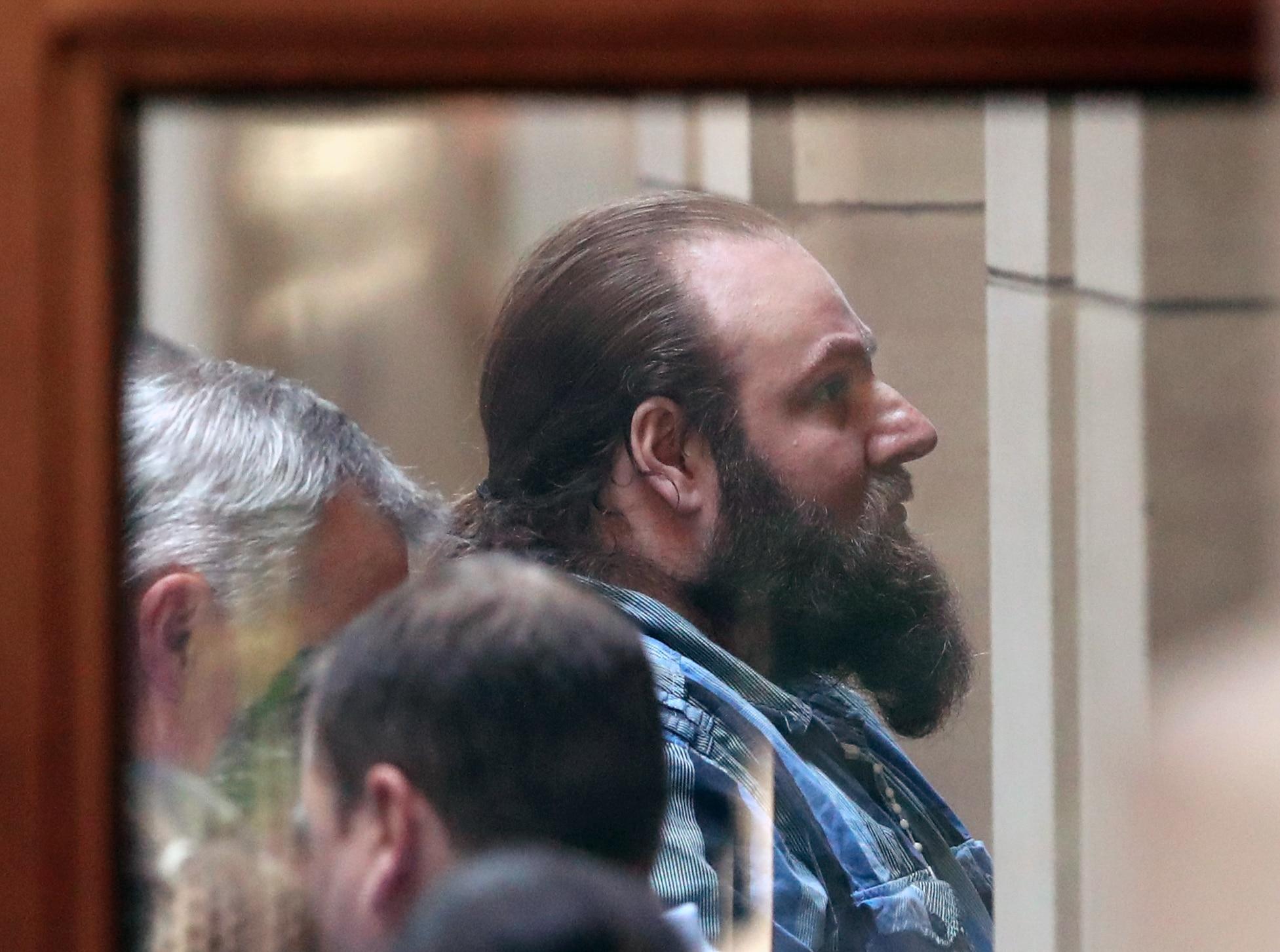 Phillip Galea is taken into the Victorian Supreme court in Melbourne.