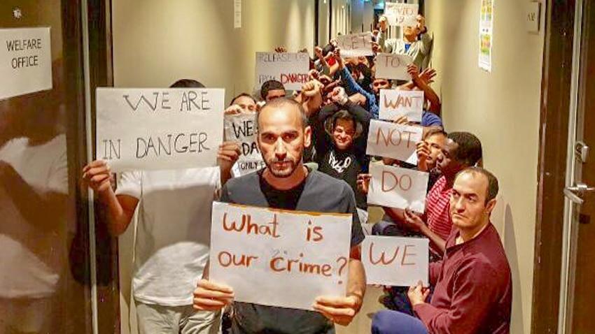 Refugees from Manus and Nauru Medevac Melbourne