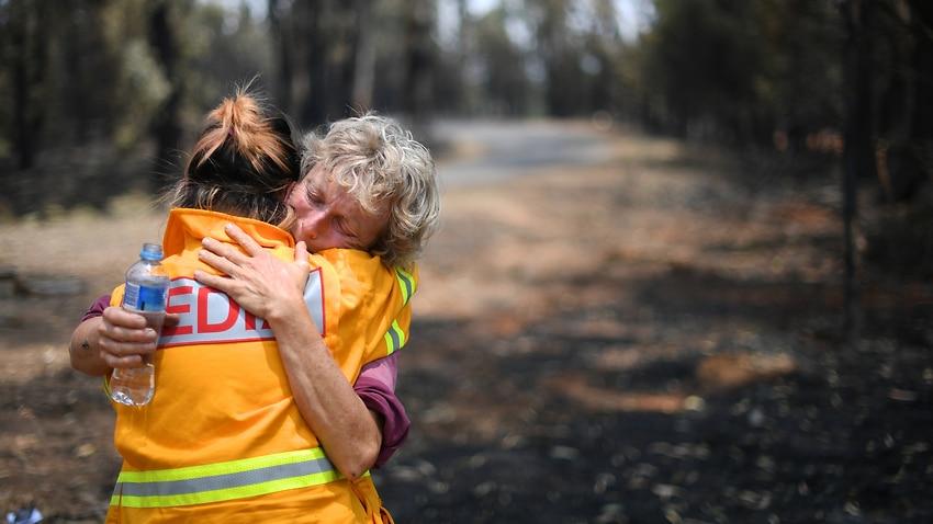 #AustralianBushfiresDisaster  - cover