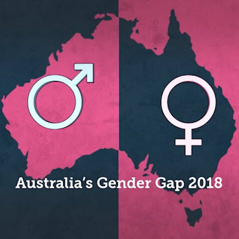 Gender equality gap in Australia 2018.