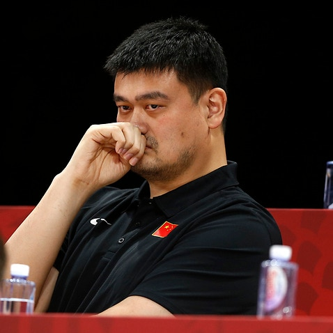 The Chinese Basketball Association, chaired by former player Yao Ming, said it would cut ties with the Houston Rockets.