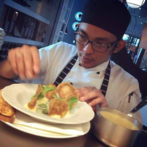 Mark Guilas started as kitchen hand and worked his way up as a chef.