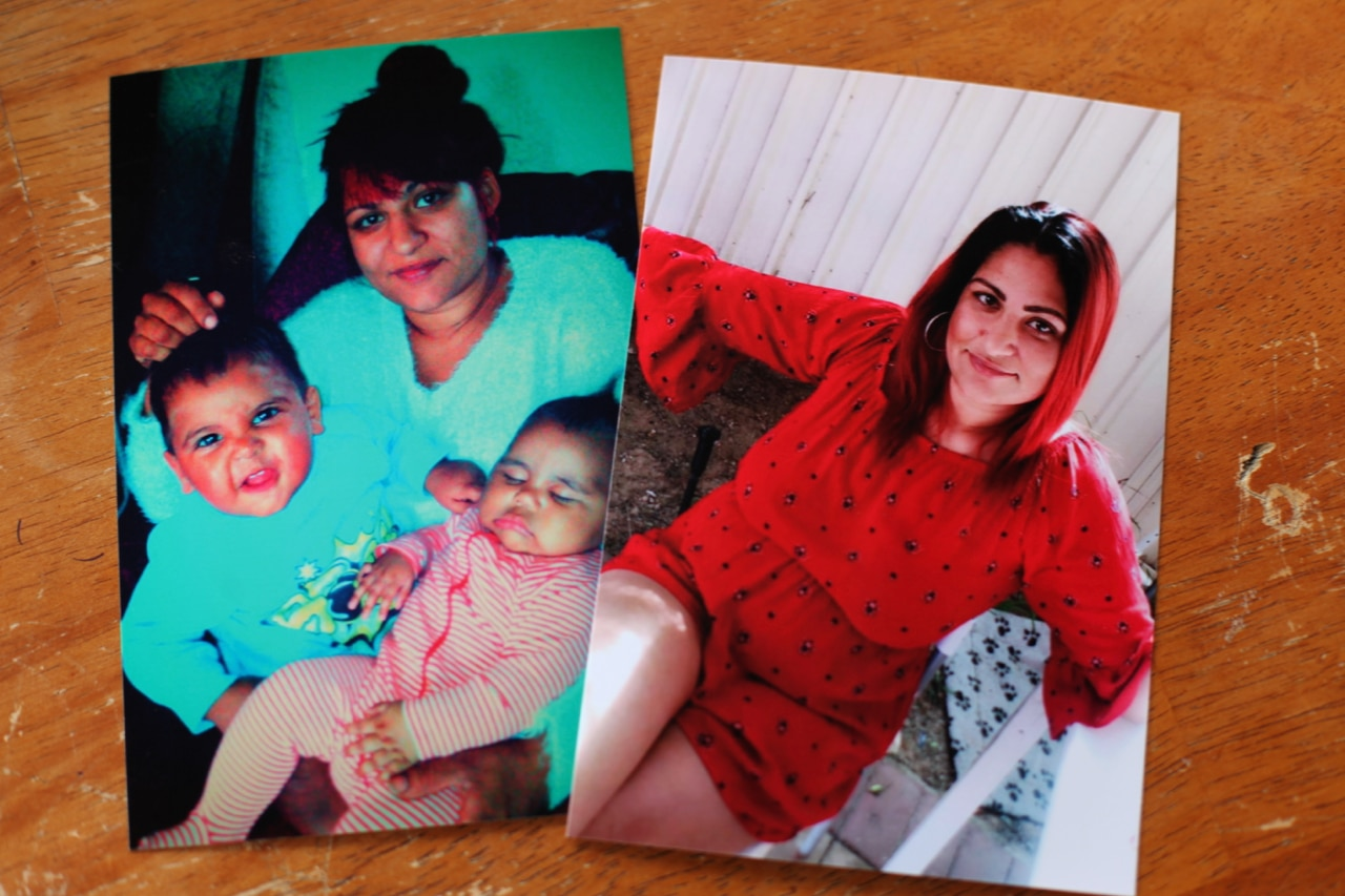Photos of Ms Wynne, including one with her children