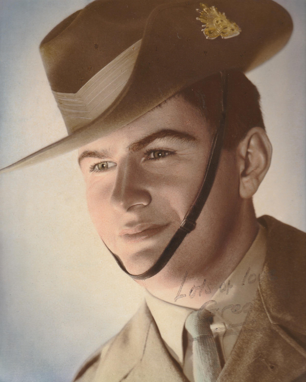 Greg Carter served in Vietnam in 1969.