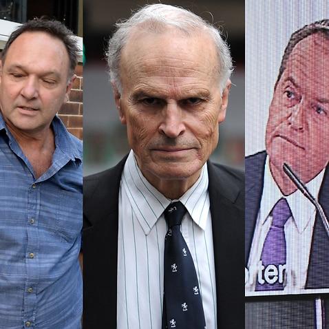 Bruce Wilson, Dyson Heydon and Bill Shorten