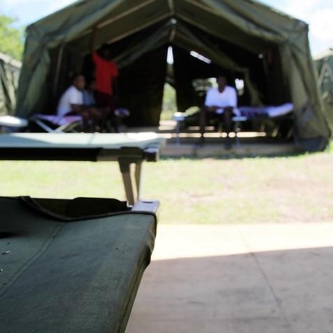 File image of the Nauru centre