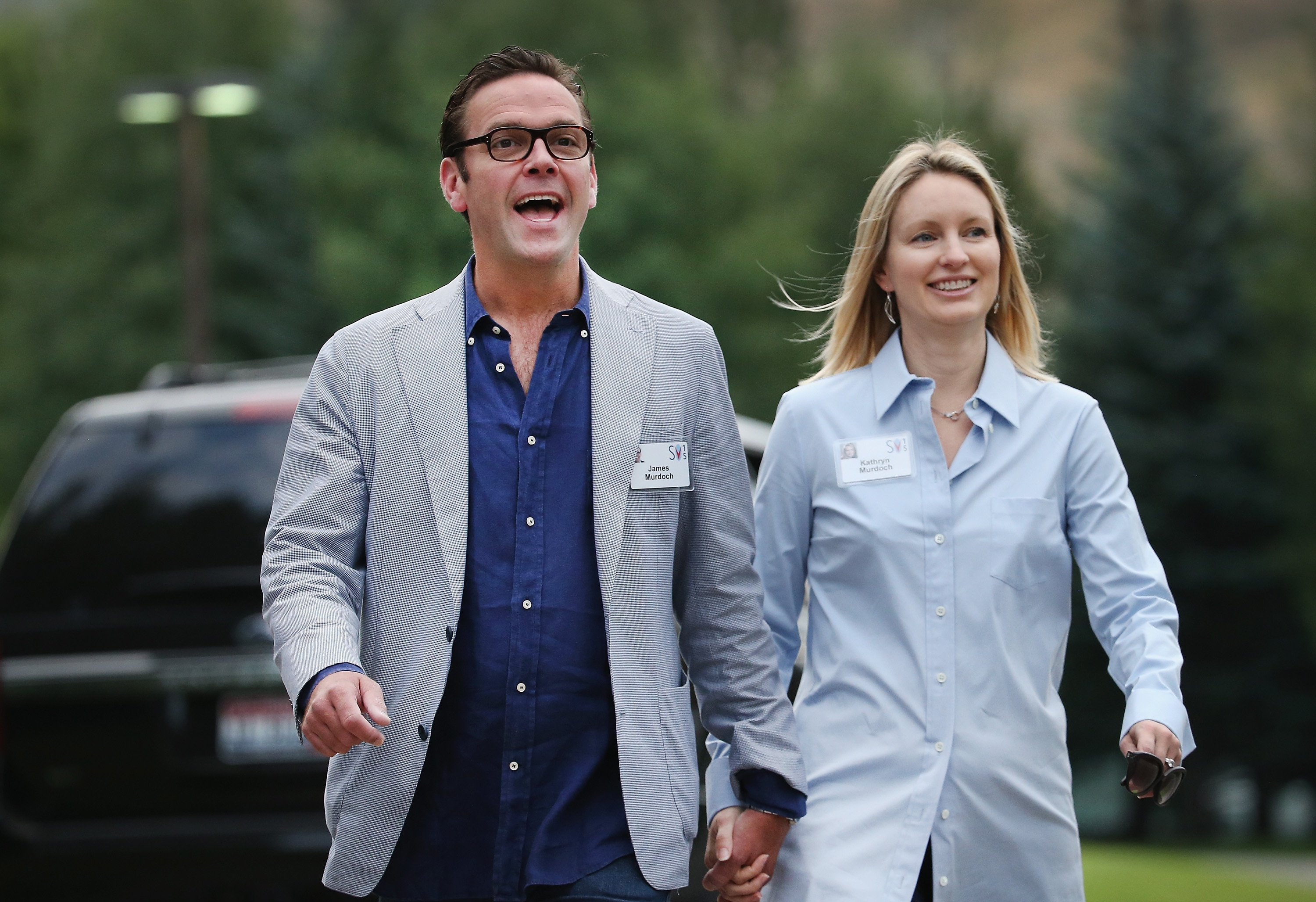 James Murdoch denounces father's news outlets for climate change denial