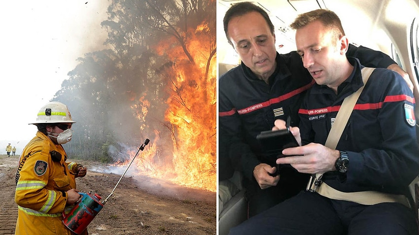 Image for read more article 'This French firefighter fought the Amazon  blaze, he's shocked by our bushfires'
