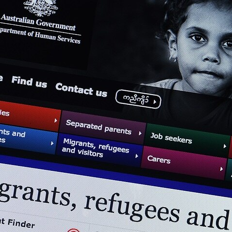Generic image taken from the Australian Government's Department of Human Services website, Monday, Jan. 30, 2017. (AAP Image/Dave Hunt) NO ARCHIVING