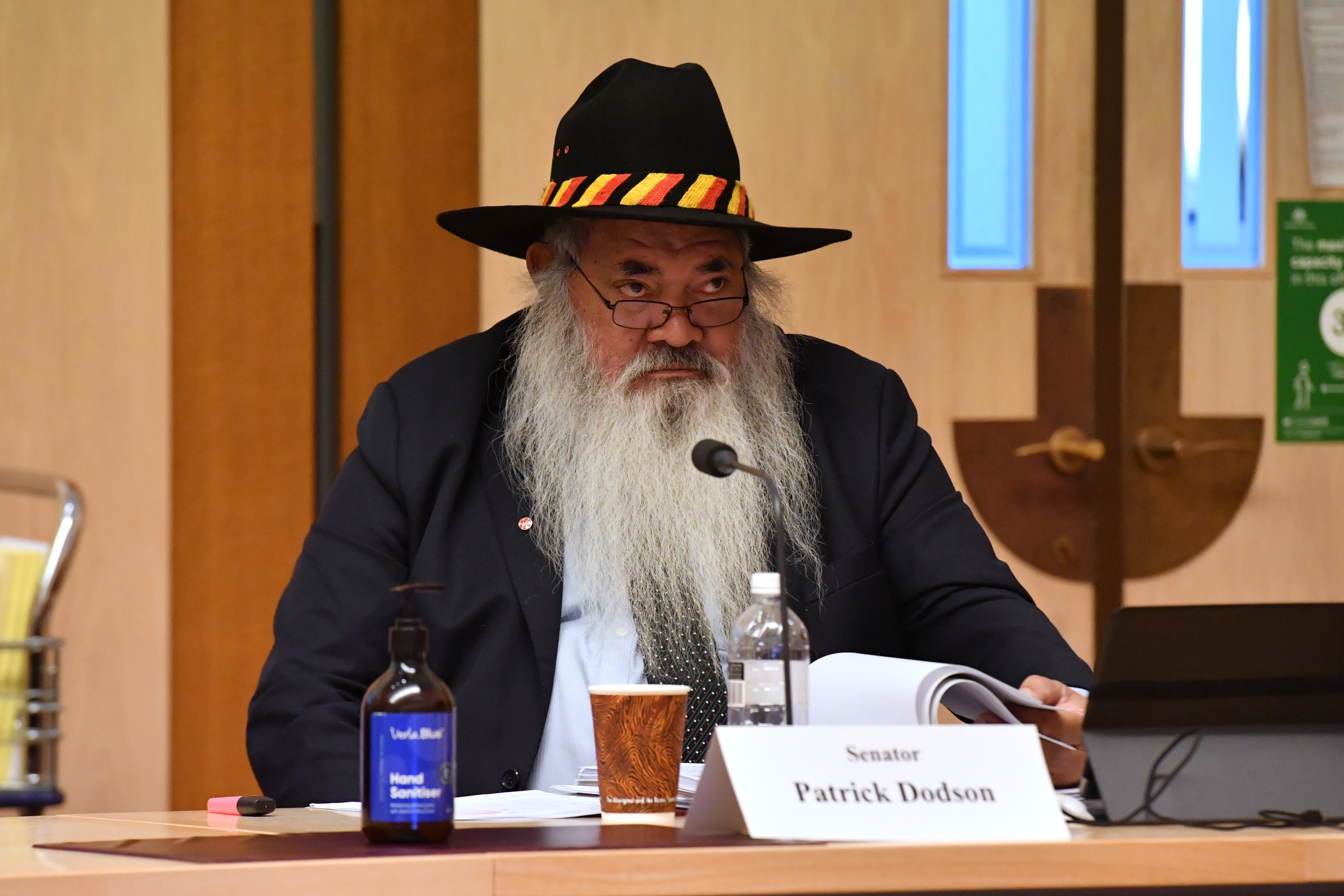Labor Senator Pat Dodson has expressed frustration at the federal government's response to Indigenous deaths in custody.