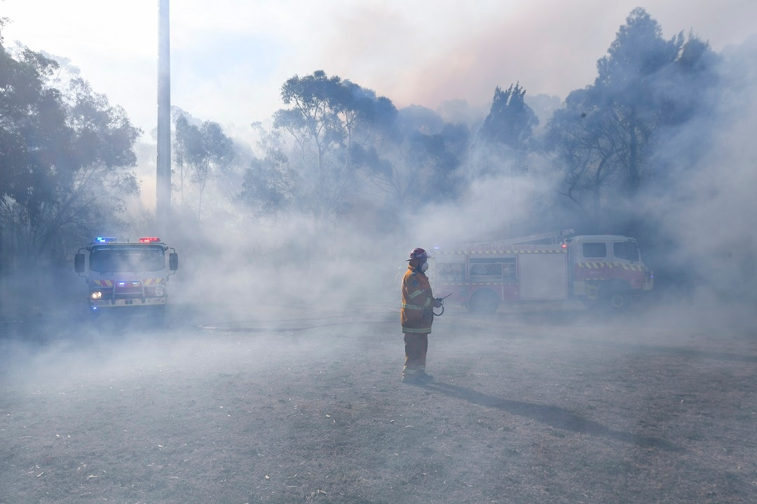NSW fires burn amid drought conditions