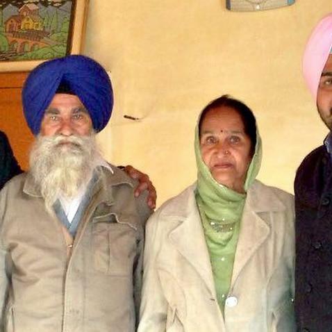 Manmeet Alisher Family