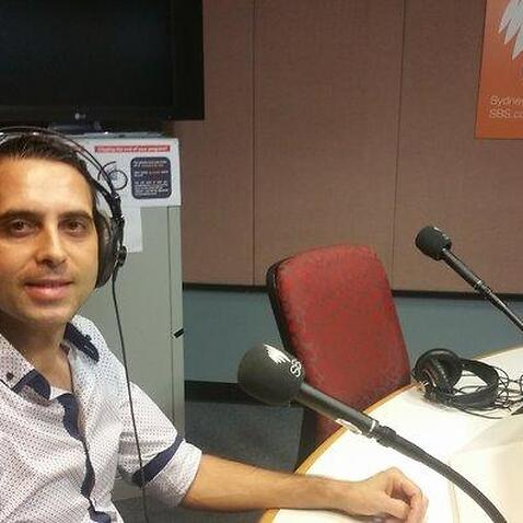 Fadista Ricardo Silva no Programa Português da Rádio SBS