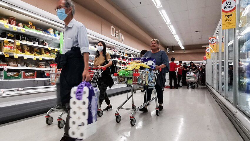 Coles will give health workers priority shopping during the coronavirus outbreak.