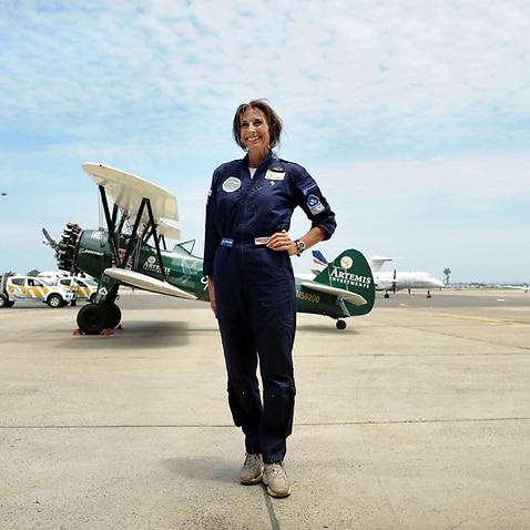 British pilot Tracey Curtis-Taylor