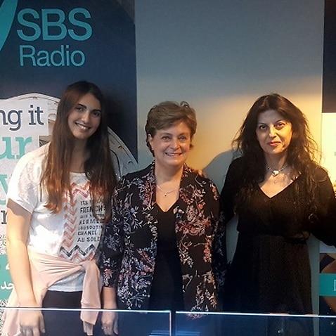 Greek students at SBS Greek Radio