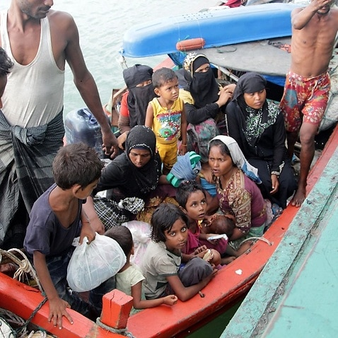 Refugees from Myanmar and Bangladesh
