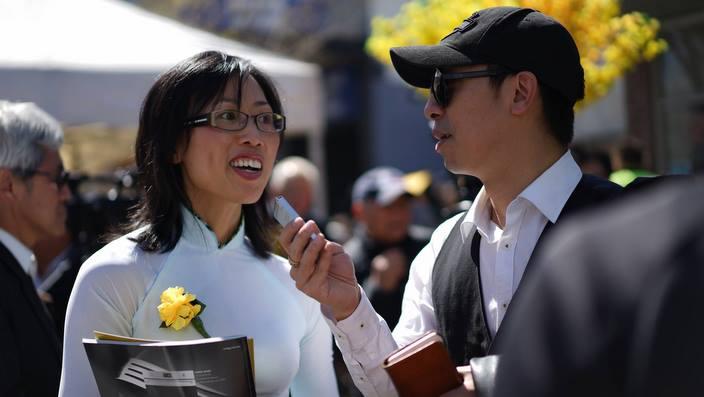 Nguyễn Phượng Vỹ trả lời phỏng vấn SBS