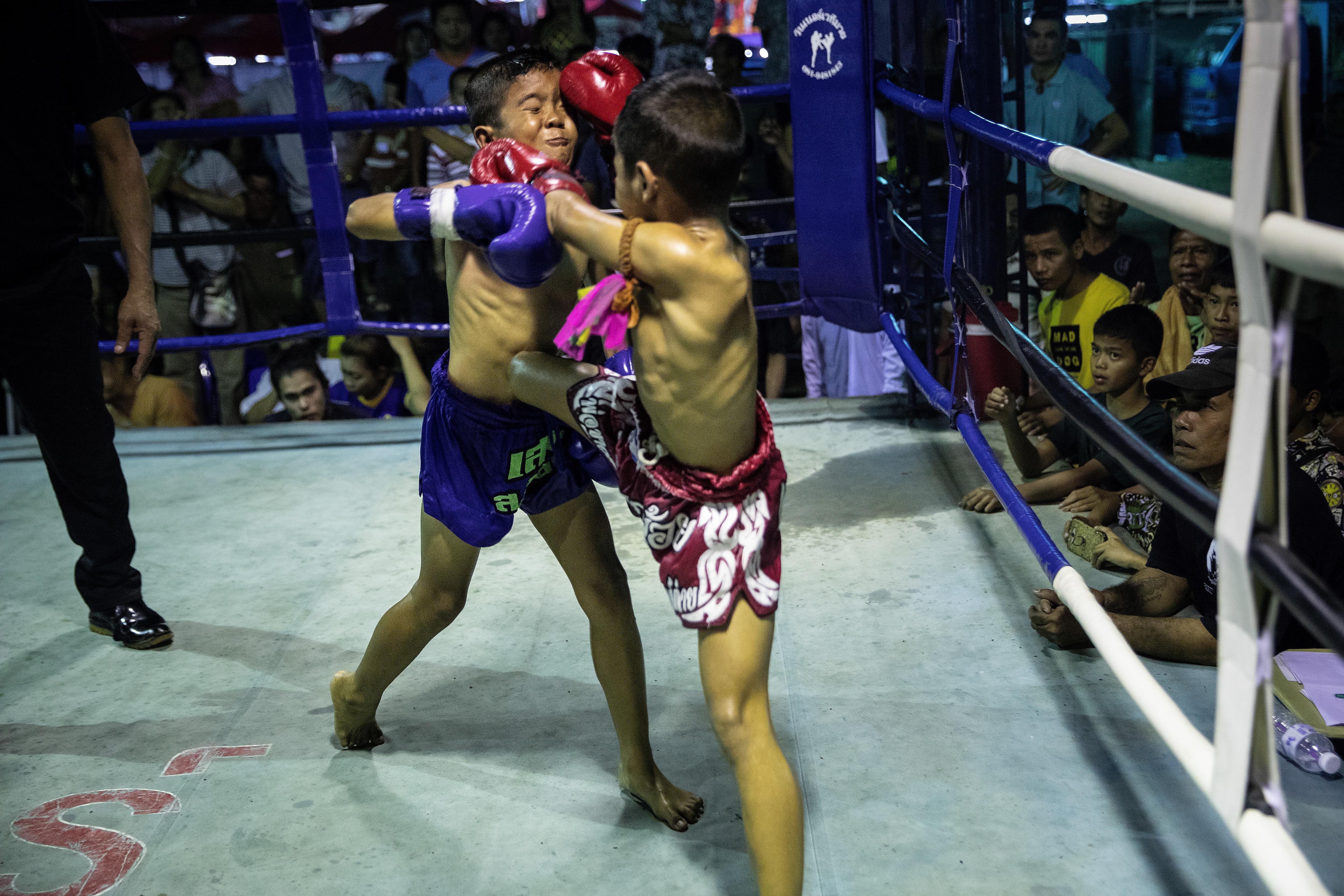 Thailand's Professional Child Boxers