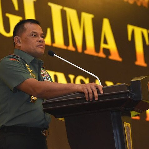 Gatot Nurmantyo says Indonesia is not safe, with IS hiding out right across Indonesia.