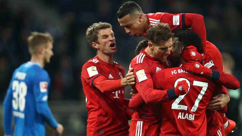 sports shoes fd81b 997d0 Goretzka stars as Bayern close gap with Hoffenheim victory