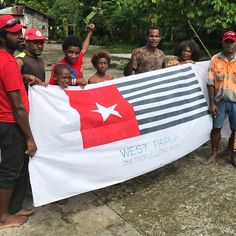 West Papuan refugees and their children in Manus