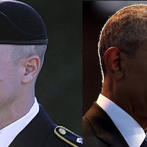 Bowe Bergdahl (left) was accused of endangering fellow service members by walking off his post in Afghanistan in 2009.