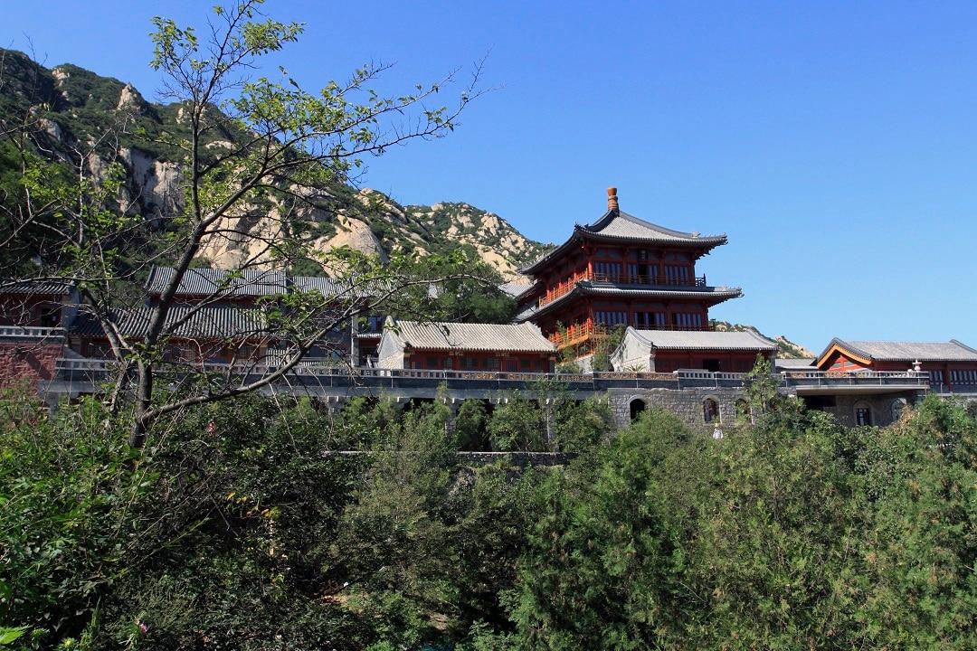 Beijing's Longquan Monastery.