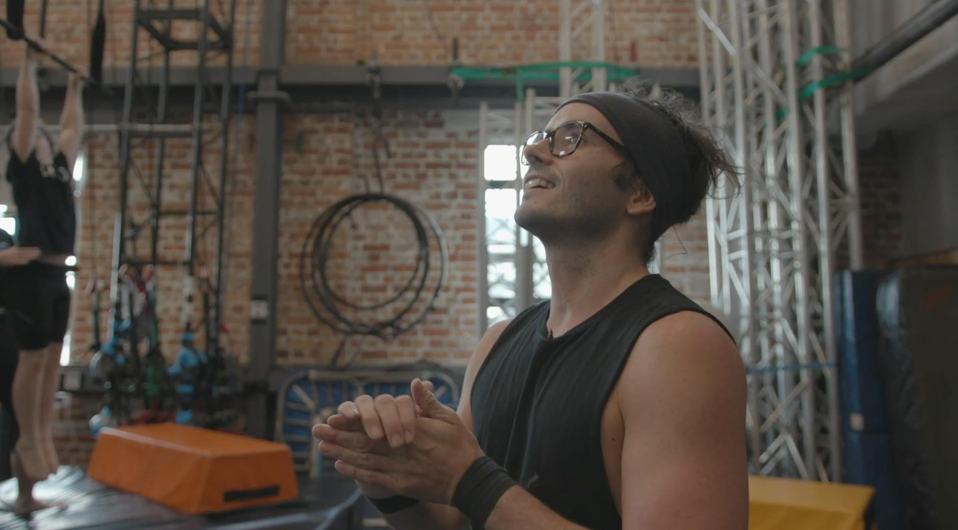 Daniel in the gym