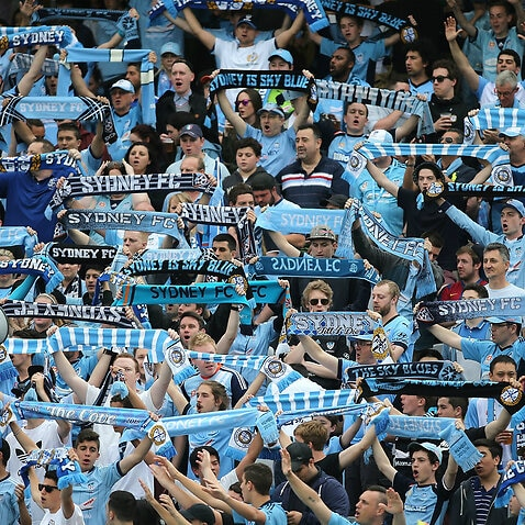 Sydney FC supporters