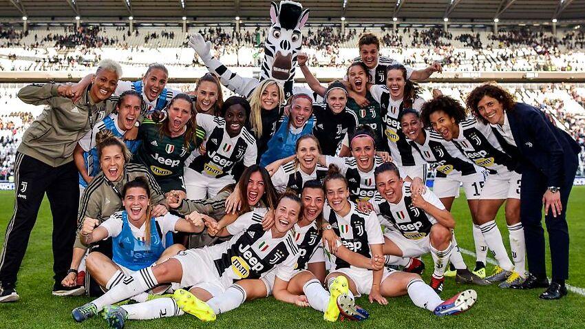 Juventus Women Draw Record Crowd In Italy