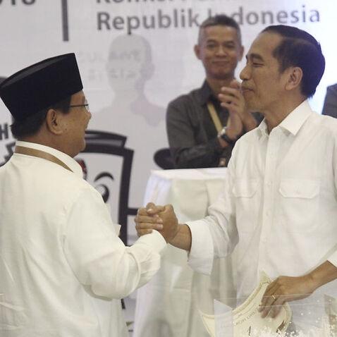 Joko Widodo and Prabowo Subianto