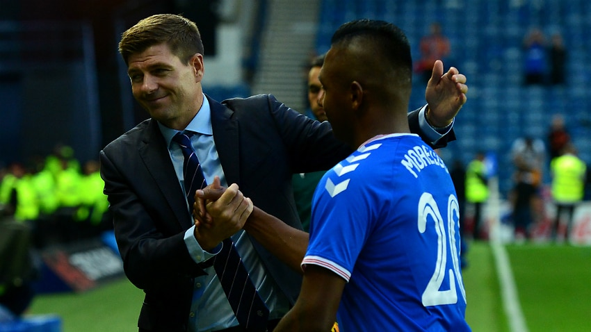 Morelos hat-trick sees Rangers win 10-0 on aggregate in Europa League qualifier