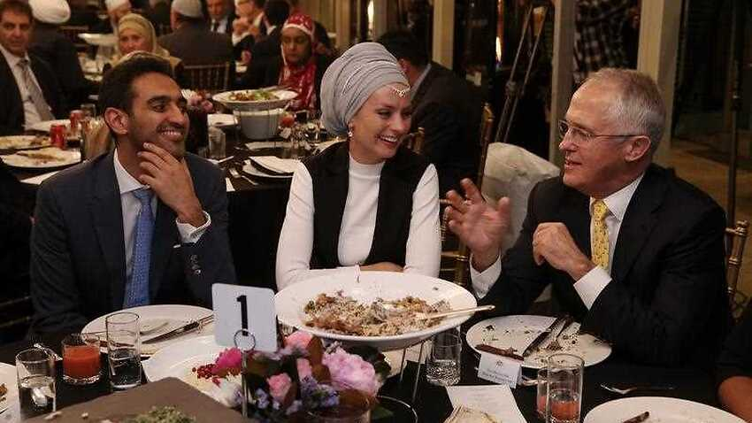 Turnbull first PM to host iftar for Ramadan