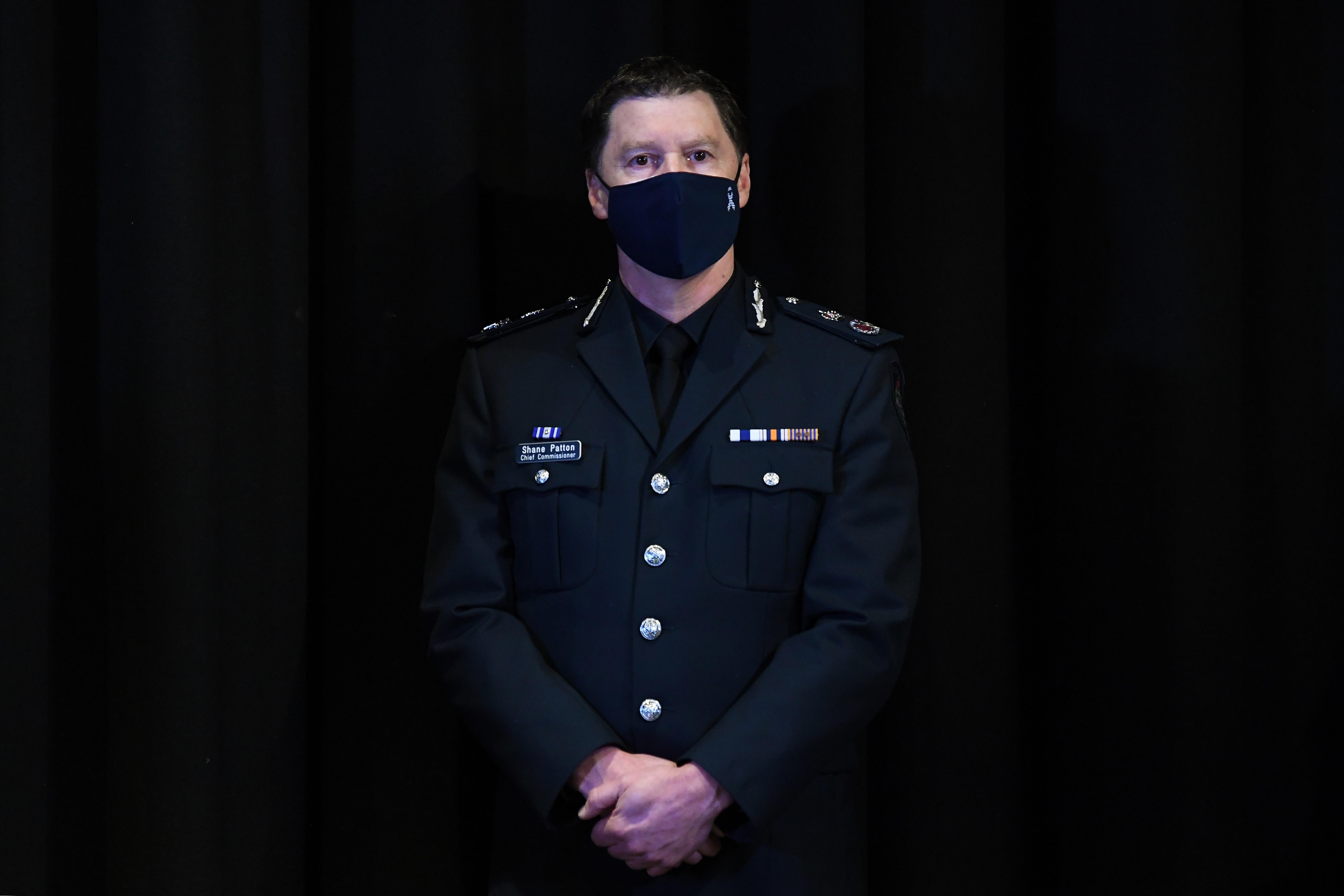 Victorian Police Chief Commissioner Shane Patton