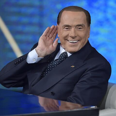 Italian former Prime Minister Silvio Berlusconi