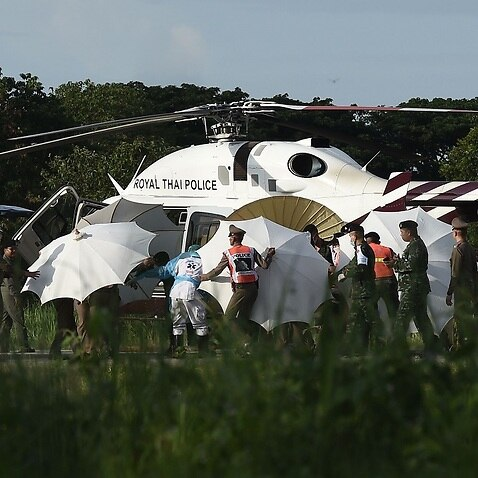 Ambulance Leaves Thai Cave on 2nd Day of Rescue Operation
